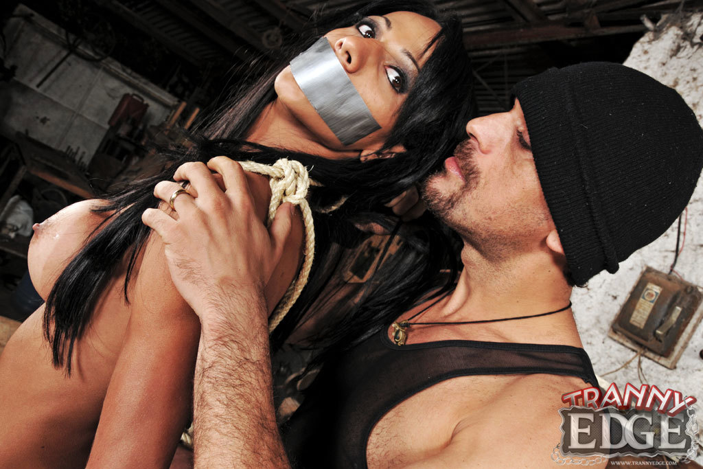 Ladyboy Nicolly Navarro Forced To Fulfill This Guys Fantasy